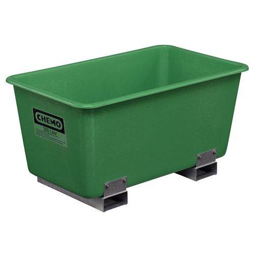 Stapelbare Box mit Gabelführung - 300 L