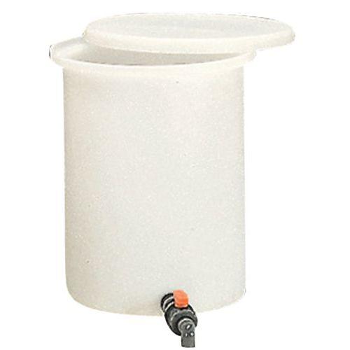 Zylinderförmiger Ausschankbehälter - 100 bis 210 L