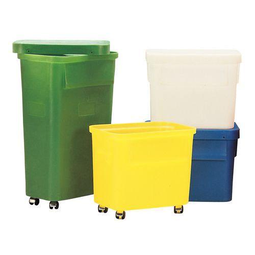 Stapelbarer Behälter Ercobox - 150 L - Mit Rollen