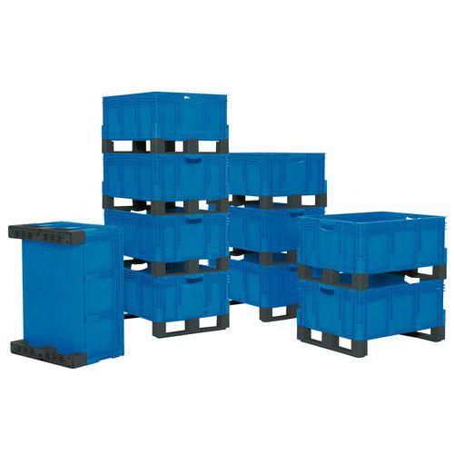 Stapelbarer Behälter XL - 121-206 L - mit Kufen