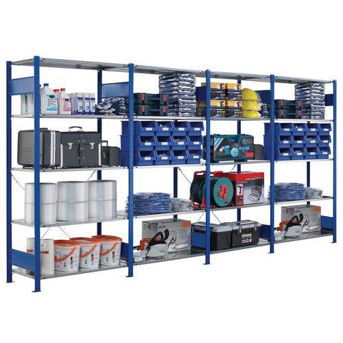 Regal für leichte Lasten Easy-Fix- Epoxid-Beschichtung