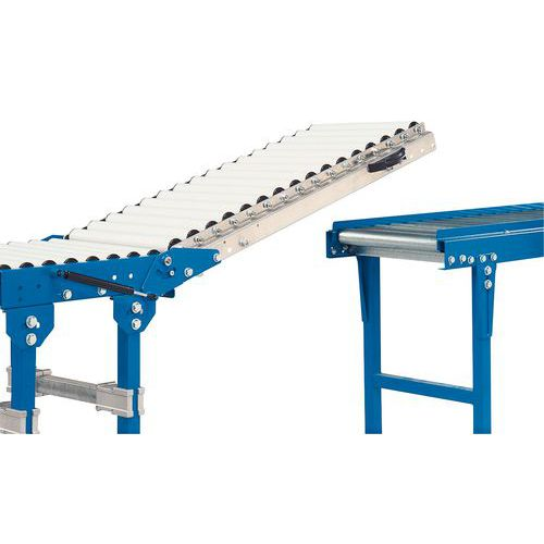 Anhebbarer Durchlass - Für Förderer von Rollen von 600 mm Länge