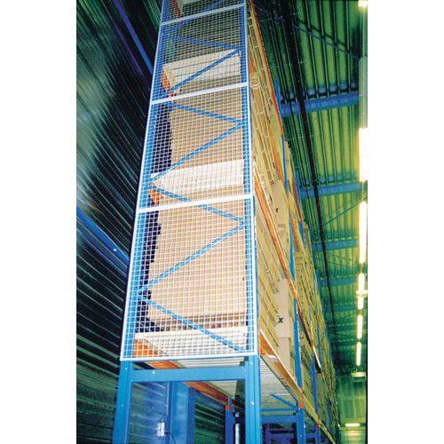Schutz für Regal Easy-Rack- Absturzsicherungsgitter- Verlängerung für Befestigungsscheibe
