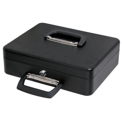 Geldkassette mit beweglichem Münzsortierer 300x230x90mm