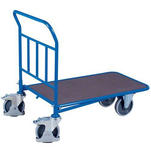 Wagen mit festem ergonomischen Bügel (einschiebbar)- Tragkraft 400 und 500kg