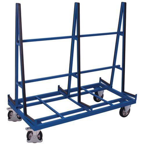 Ergonomischer Plattenwagen, doppelseitig- Tragkraft 1200kg