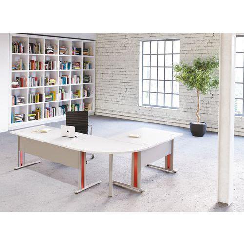 Geradliniger Schreibtisch Rainbow 2