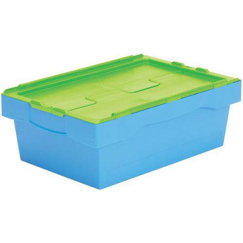 Transportbehälter mit Farbcodierung - Länge 600 mm