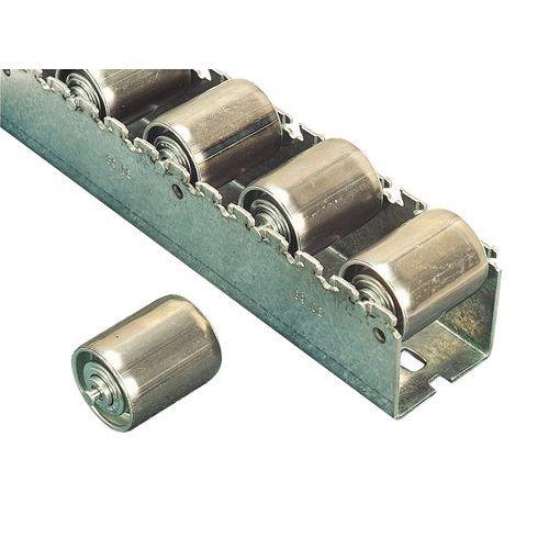 Rollenleiste aus Stahl - Länge 3600 mm