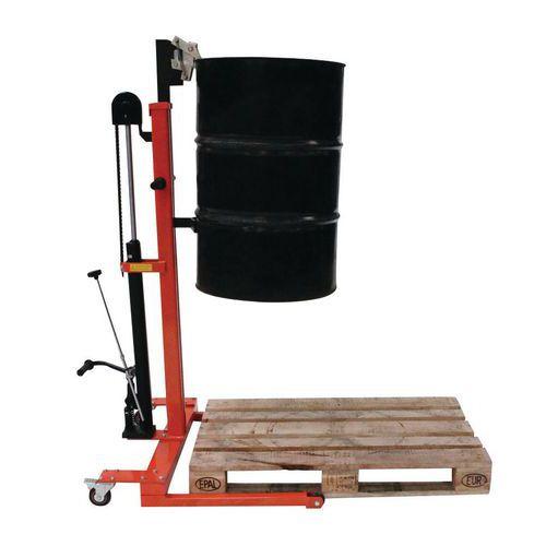 Hydraulischer Metallfassheber- Tragkraft 300kg