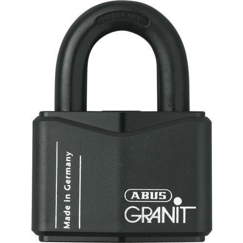 Klassisches Vorhängeschloss Granit Serie 37 – Für Hauptschlüssel – 2 Schlüssel