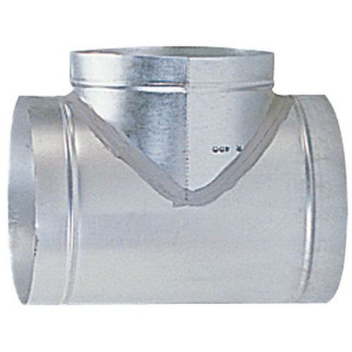 90°-Abzweigung für starre Entlüftungsschläuche - Ø 80 bis 125mm
