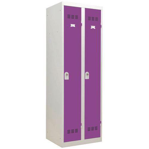 Spind für saubere Industriebereiche- 2Säulen- Breite 300mm - Vinco
