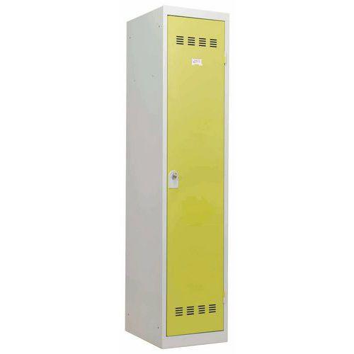 Spind für Industriebereiche mit hoher Schmutzbelastung- 1Säule- Breite 400mm