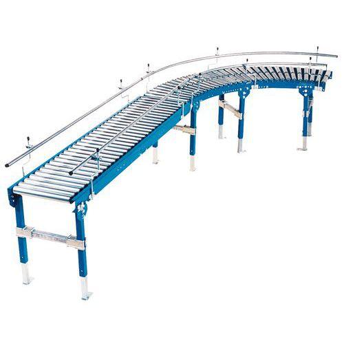 Schwerkraftförderer - Mit Stahlrollen Ø 60 mm Länge 500 mm