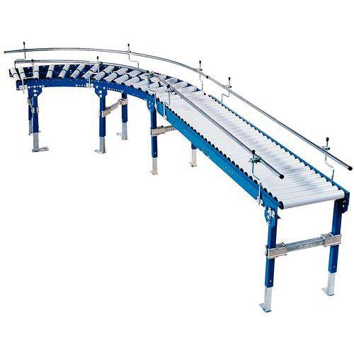 Schwerkraftförderer - Mit Stahlrollen Ø 50 mm Länge 600 mm