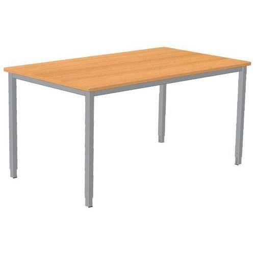 Schreibtisch combi classic festes untergestell manutan for Schreibtisch untergestell
