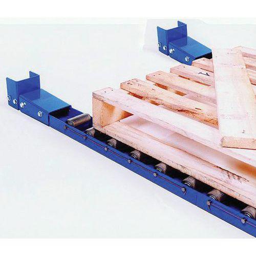 Stahlrollenleiste - Länge 1000 mm