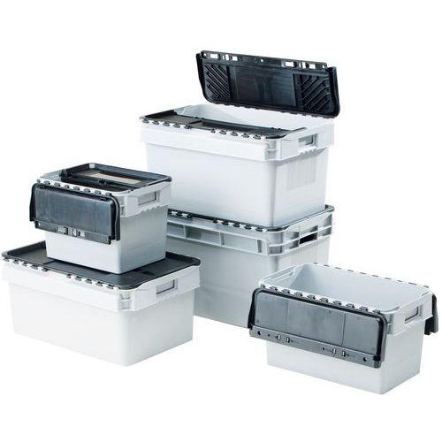 Standardbehälter mit integriertem Deckel - Länge 300 mm
