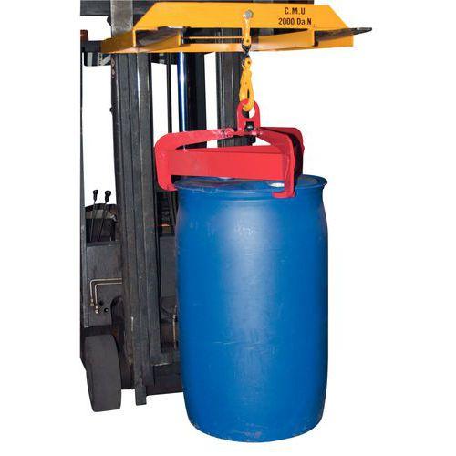 Automatische und halbautomatische Fasszange - Tragkraft 600 kg