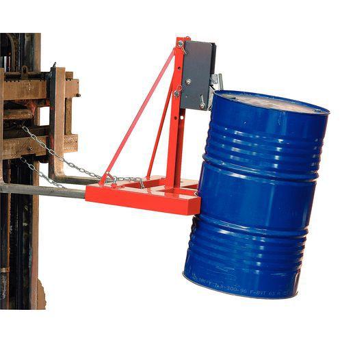 Automatische Zange für 1 oder 2 Fässer - Tragkraft 500 und 1000kg