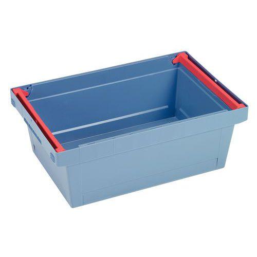 Stapelbarer Behälter mit Bügel - Länge 400 und 600 mm - 16 bis 47 l