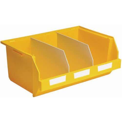 Stapelsichtbox Picking, zusammensetzbar - Länge 600 mm - 45 l