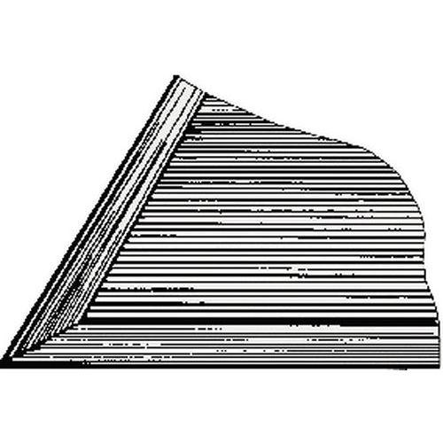 Einfassung für Bodenbelag - PVC