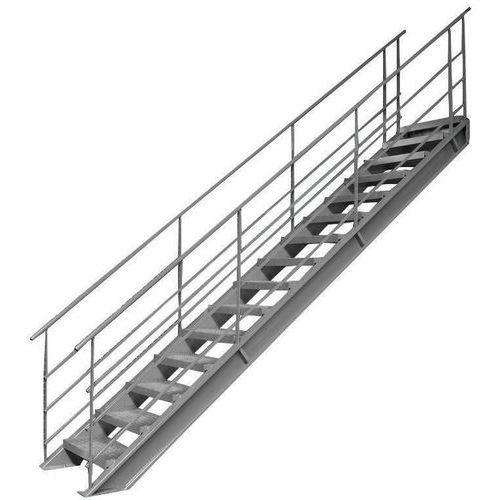 Treppe 38° für Lagerplattform