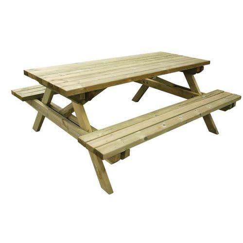 Picknick-Tisch Forest - Kiefer - Benito