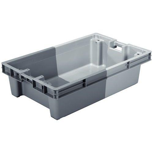 Großformatiger Stapelbehälter - zweifarbig - Länge 620 bis 890 mm - 60 bis 75 l