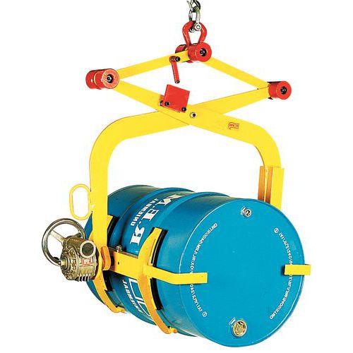 Fasskipper mit Spannbacken - Tragkraft 500 kg