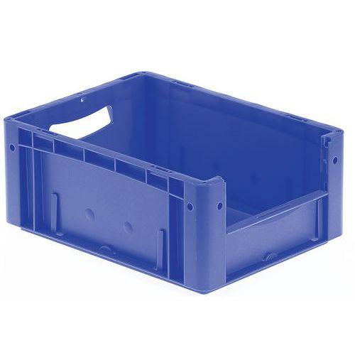 Euronormbehälter - Geschlossene/r Boden und Seiten - Halbseitige Öffnung - Länge 400 mm - 16 bis 25 L