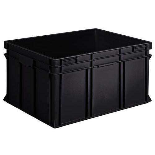 Behälter nach europäischer Norm - einfach - Schwarz, Recycling