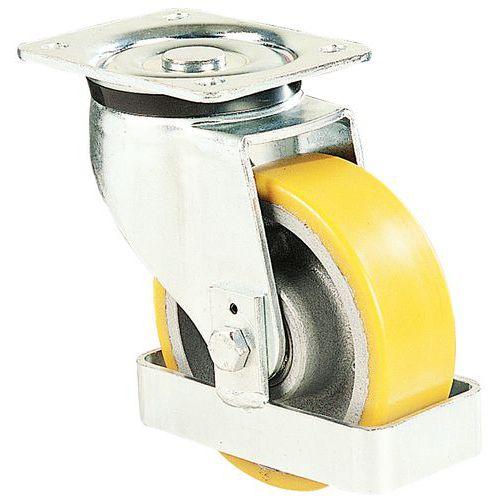 low priced 50826 a192f Rolle mit Platte - Traglast 550 bis 700 kg - Mit Fußschutz