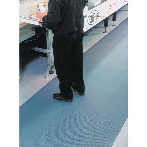 Ergonomische Anti-Ermüdungsmatte- geriffelte Oberfläche- laufender Meter- Manutan