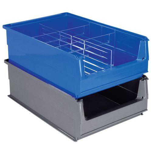 Stapelsichtbox, unterteilbar- Länge 500 mm - 21 l