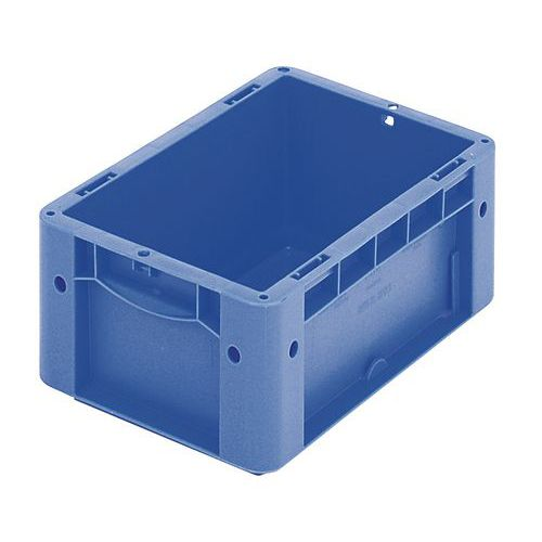 Euronormbehälter - Geschlossene/r Wände und Boden - Länge 200 mm bis 300 mm - 2,2 L bis 8,3 L