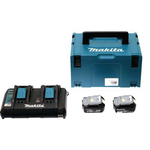 18-V-Energiepack mit MAKPAC-Box- Makita