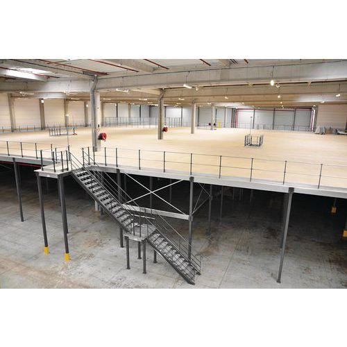 Industrielle Lagerplattform - 3000 x 4200 x 4200 mm