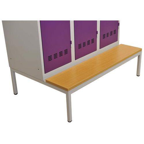 Sitzbank-Untergestell für Spind Vinco