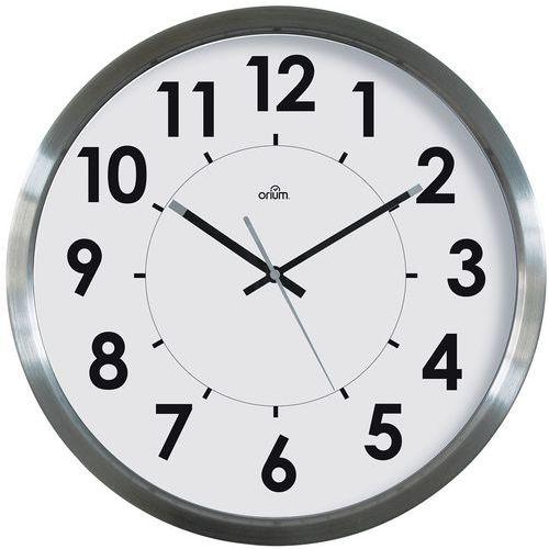 Einfache Uhr aus Edelstahl