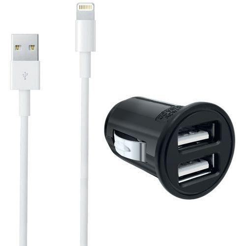 USB-Ladegerät für Zigarettenanzünder + Lightning-Kabel iPhone- Moxie