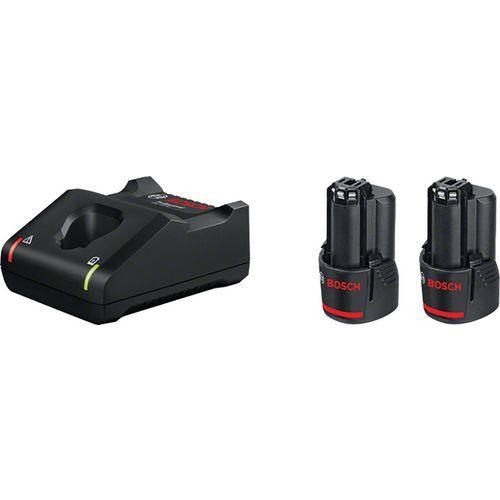 Satz mit 2Akkus mit 12V und Schnellladegerät- Bosch