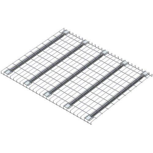 Gitterauflage aus Stahl Stock-Pallet- Mecalux