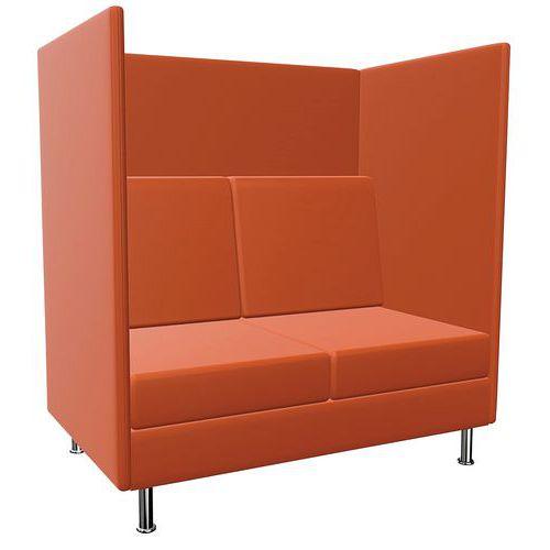 Coworking-Sitzgelegenheit für 2Person- H136cm- Atelier