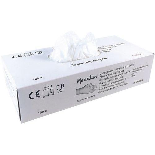 Beschichtete Vinyl-Einweghandschuhe - Manutan