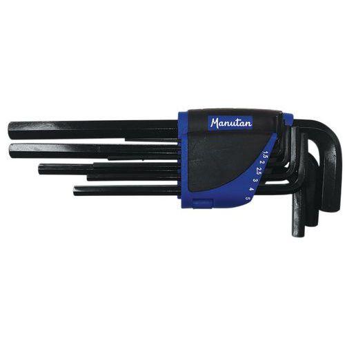 Gestell mit 9 Stiftschlüsseln Resistorx- Manutan