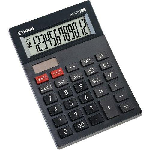 Mini-Tischrechner, 12-stellig, grau, AS-120HB- Canon