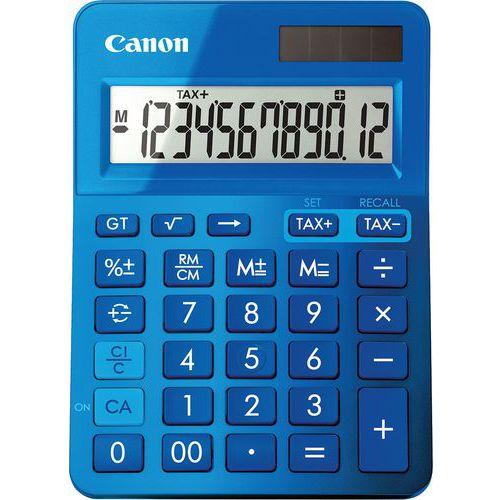 Tischrechner, 12-stellig, blau, LS-123K-MBL- Canon